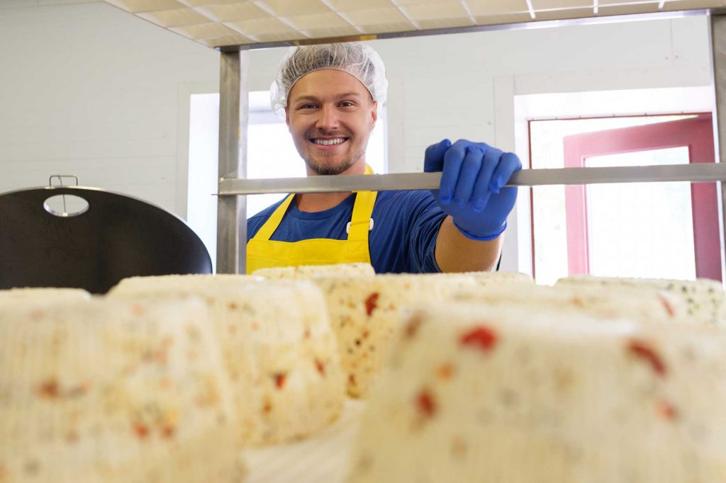 Cheese Maker With Apron