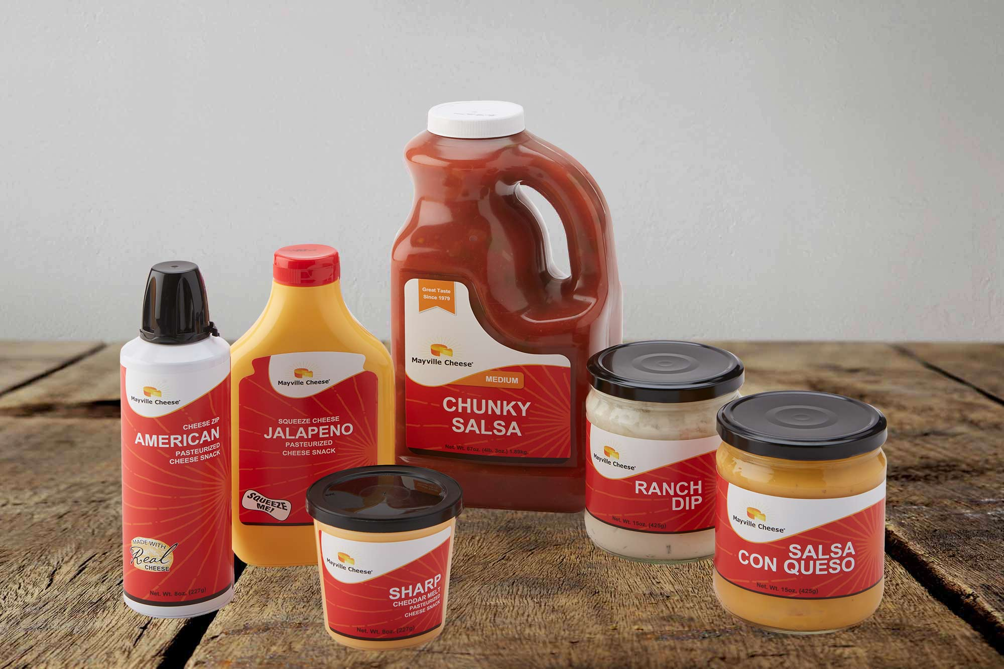 Mayville Cheese Product Line